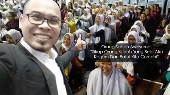 Lelaki Dedah Sikap Orang Sabah Yang Kita Semua Patut Contohi