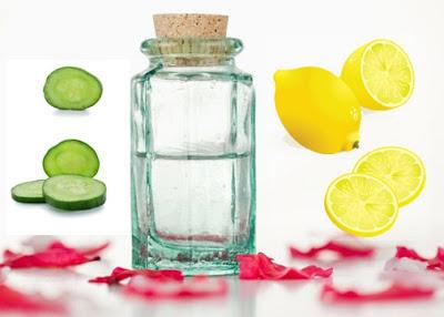 Rosewater, Lemon, and Cucumber