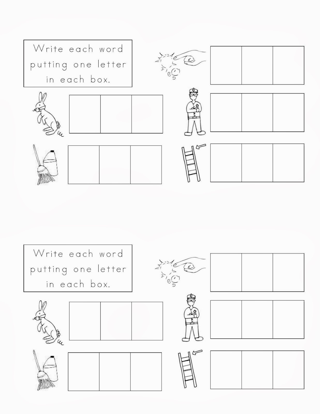 Lauren Brownlie Illustration Educational Worksheets