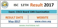 ISC Result 2017