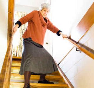 Seniors falling down
