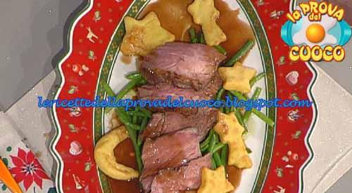 Tagliata di manzo al sangiovese con stelle di patate for Cucinare tagliata