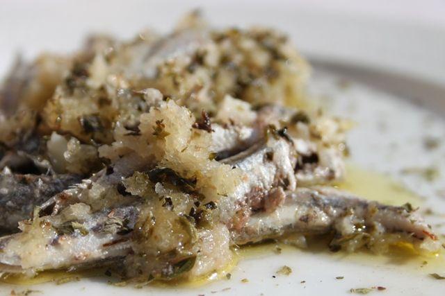 alici arraganate della Basilicata, foodfilebasilicata