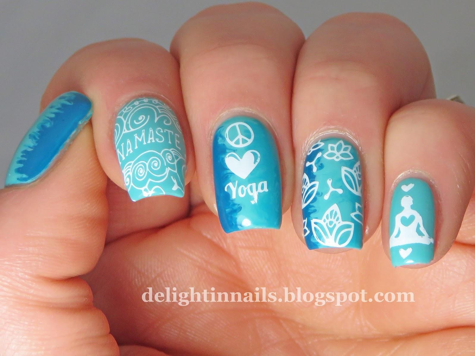 Delight in nails 40 great nail art ideas aqua or turquoise 40 great nail art ideas aqua or turquoise prinsesfo Choice Image
