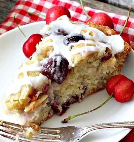 Cherry Almond Coffeecake – Food And Cake Recipes