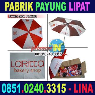 Payung Lipat Laritta - Pabrik Payung Surabaya Murah Grosir