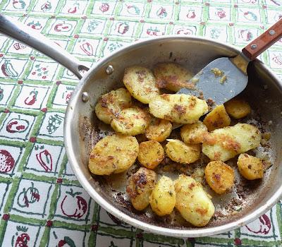 Fondant Potatoes & Turnips