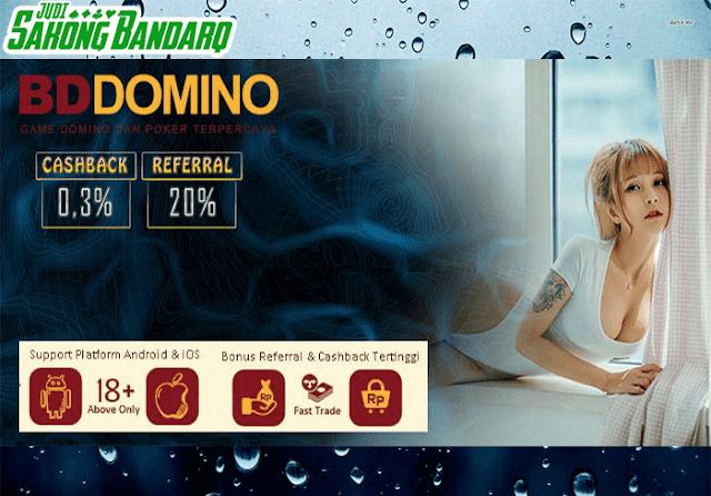 Agen BandarQ Online Terpercaya BdDomino