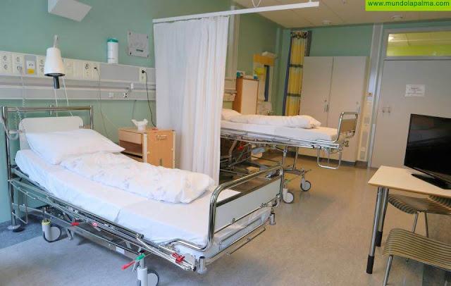 Se localiza un nuevo positivo por COVID-19 en el Hospital General de La Palma