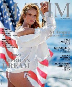 Читать онлайн журнал<br>Maxim (№9 сентябрь 2016 США)<br>или скачать журнал бесплатно