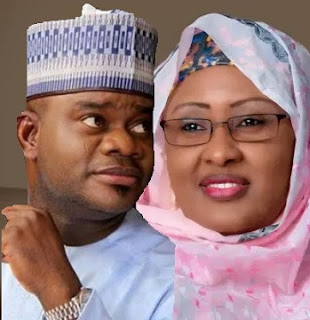 Kogi Gov. Bello, Messed Up in N1.5b Bribe For Election Tribunal Judges SCANDAL, Aisha Buhari IMPLICATED