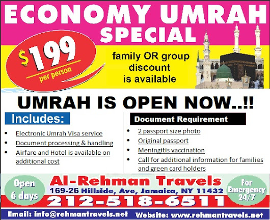 Umrah Visa 2018 IS OPEN NOW