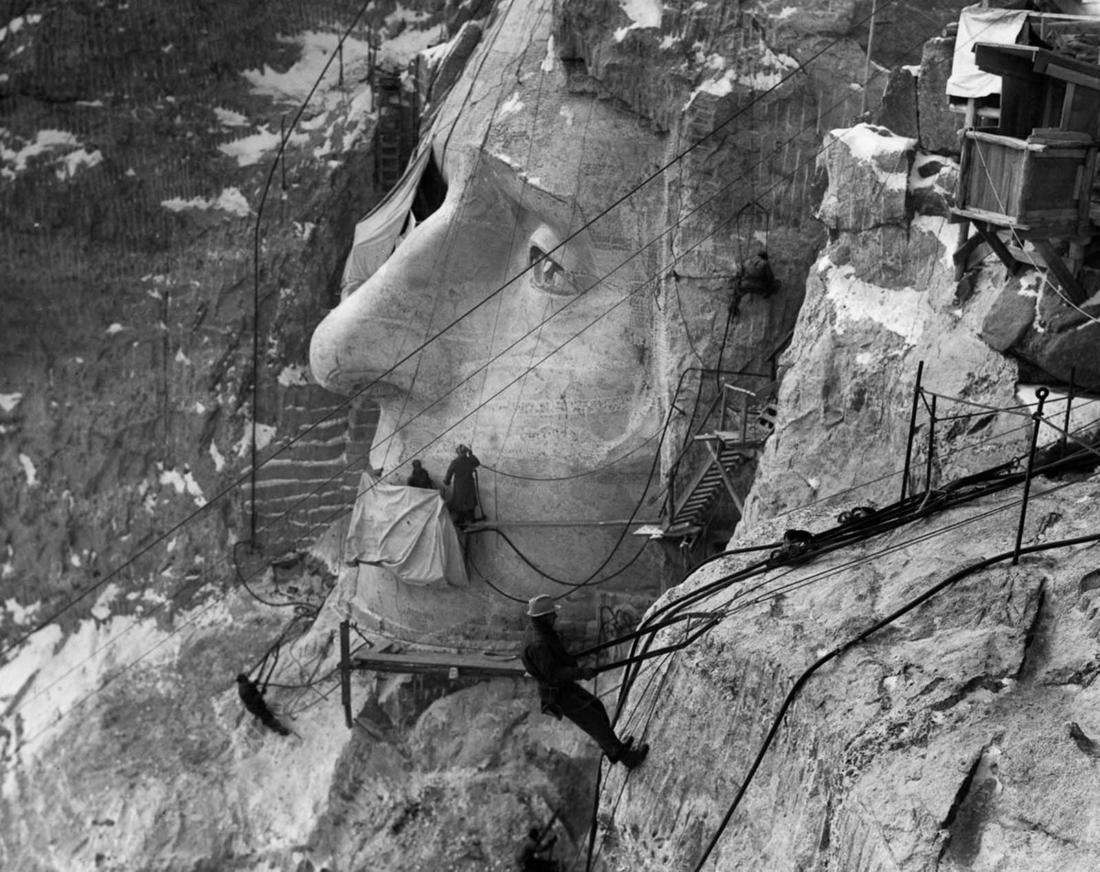 Historian Doane Robinson conceived the idea for Mount Rushmore in 1923 to promote tourism in South Dakota.