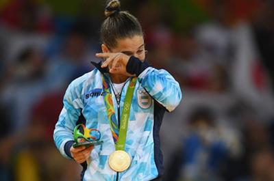 medalla de oro judo