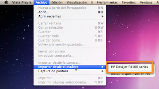 escanear en mac