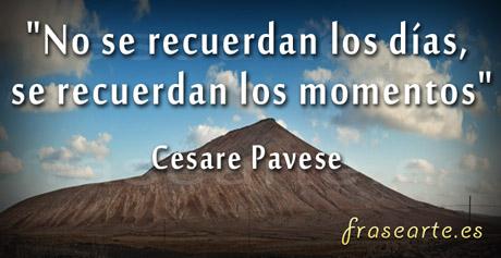 Frases para recordarte, Cesare Pavese