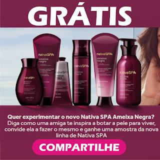 Experimente Nativa SPA Ameixa Negra O Boticário - Amostras Grátis ... 389b574106