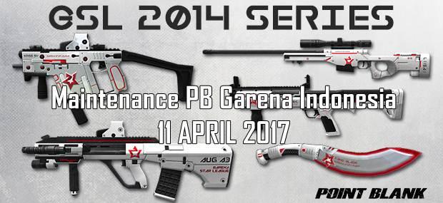Informasi Maintenance PB 11 April 2017 Update Seri GSL 2014