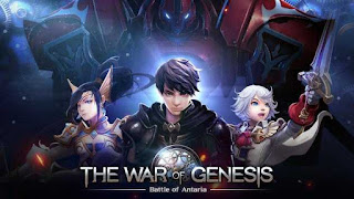 The War of Genesis: Battle of Antaria Apk + Data Obb