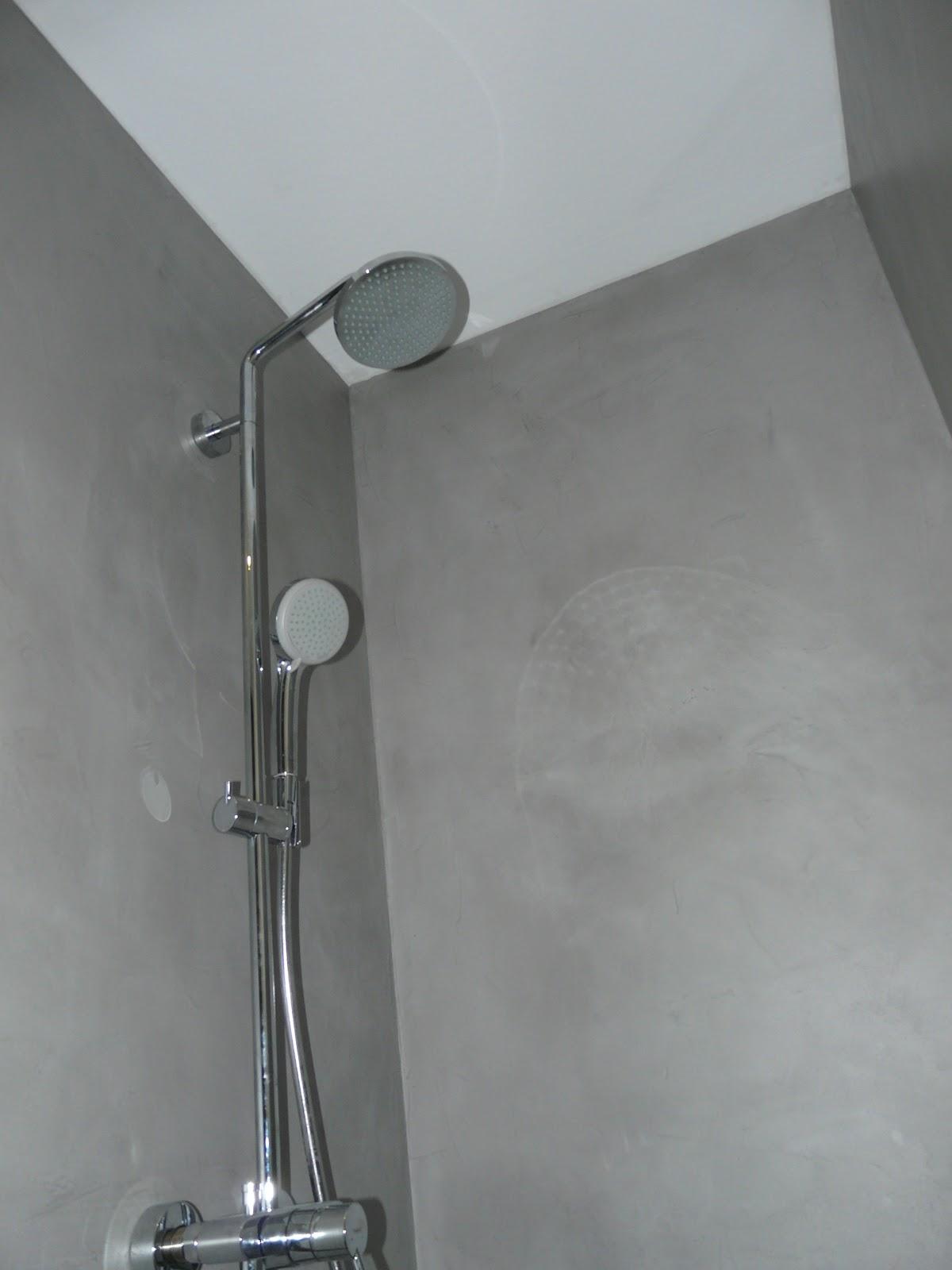 wand-wohndesign-beton-cire: Beton Cir - Bad in Betonoptik
