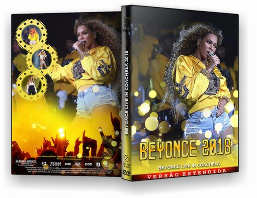 DVD – Beyoncé Live in Coachella 2018 – ISO