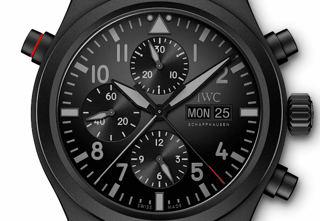 IWC Pilot's Watch Double Chronograph Top Gun Ceratanium ref. IW371815