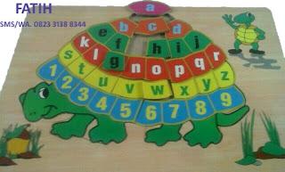 Game Puzzle Huruf Kura-Kura