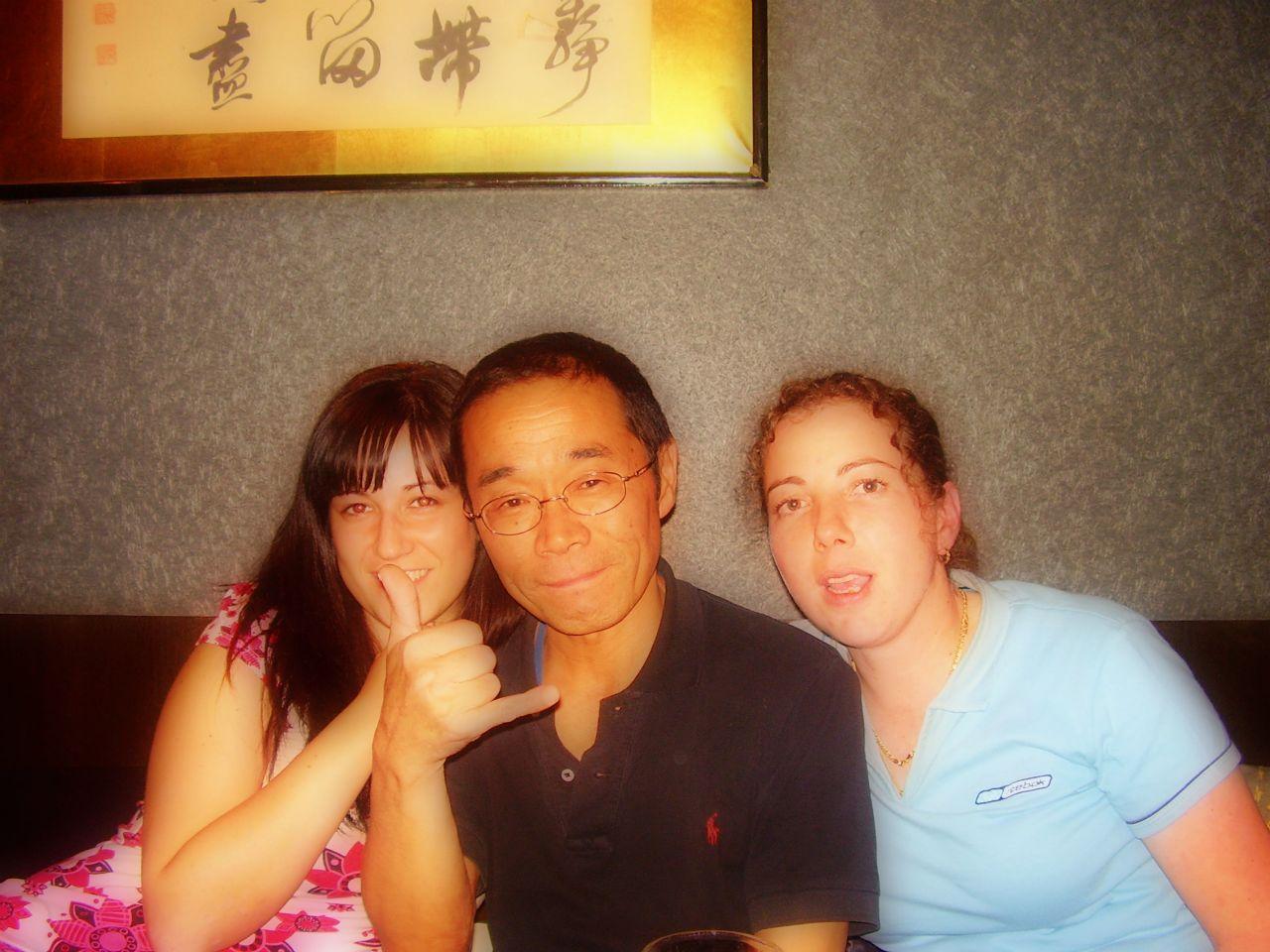 Izakaya en japon con nuestro amigo japones