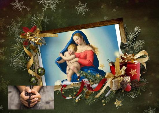 Santo Rosario continuo, di 24 ore, il 1º gennaio, Solennità di Santa Maria Madre di Dio