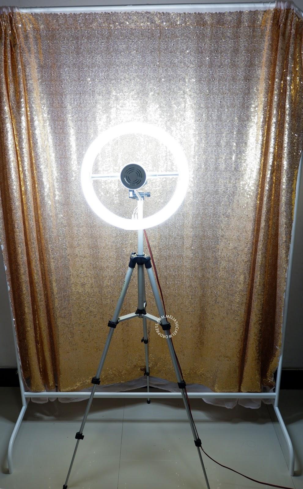 DIY Ring Light Praktis dan Murah dibawah 150K