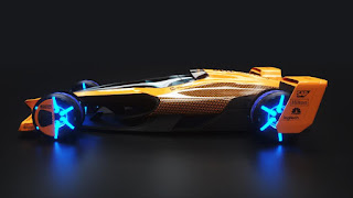 McLaren's vision for Formula-1 in 2050 MCLExtreme