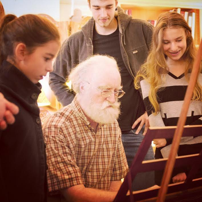 Seattle Opera Blog: Teen Opera Players Visit Piano Museum