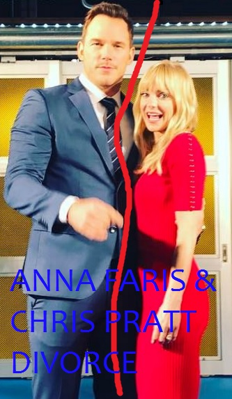 Anna Faris and Chris Pratt sad announcement of getting legally separated from eight years long marriage