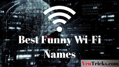 Funny Wifi Nams