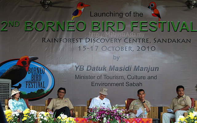 Launching of Borneo Bird Festival