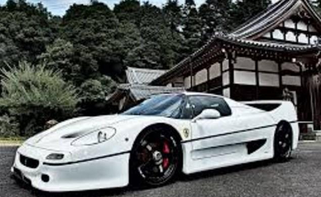 Ferrari F50 Color White