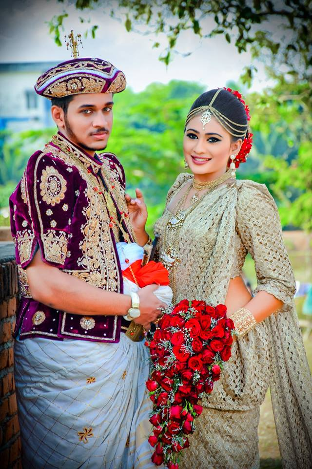 kandyan wedding dress piumi hansamali