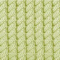 Knit Purl 52: Stockinette Triangle | Knitting Stitch Patterns.