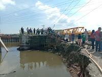 Jembatan Sicanang Amblas Sulitkan Warga, Ini Reaksi Wakil Rakyat