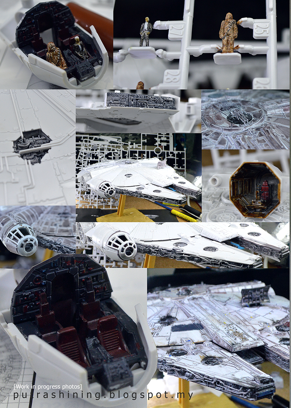 Bandai Star Wars: 1/144 Millennium Falcon Custom Putaro Ver. by Putra Shining