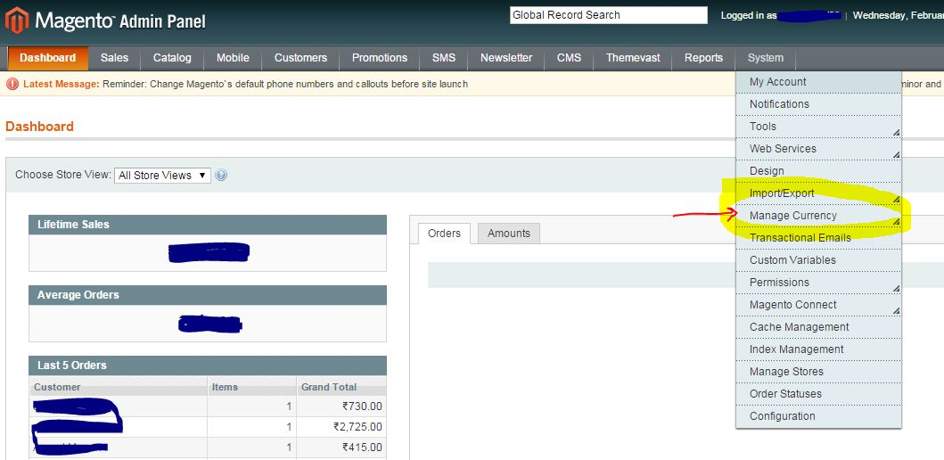 How To Add Indian Rupee Symbol In Magento By Changing Rs Most