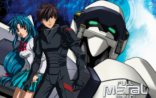 Tapeta z anime Full metal panic