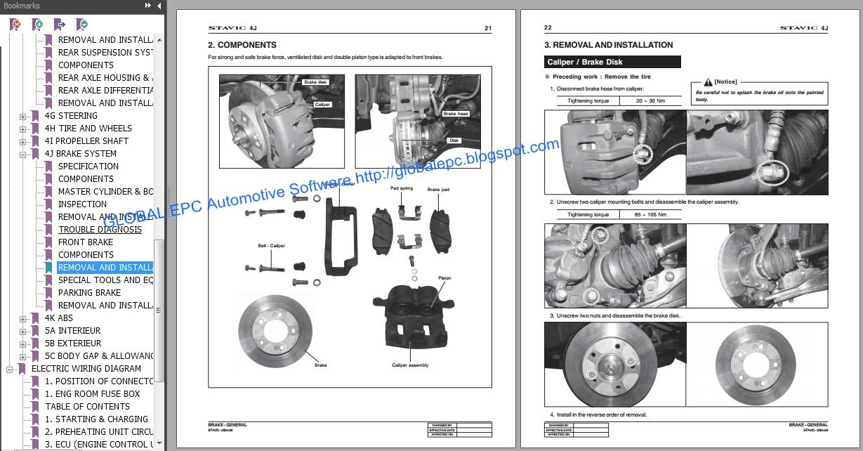 AUTO MOTO REPAIR MANUALS: SSANGYONG RODIUS STAVIC 2004