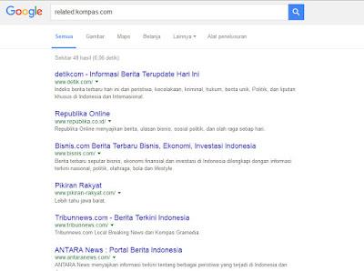 Hal Menarik yang Bisa Di lakukan Google Search - Web sejenis