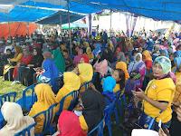 <b>Sejumlah Tokoh dan Ribuan Massa Meriahkan Kehadiran LUTFI-FERI di TOLOBALI</b>