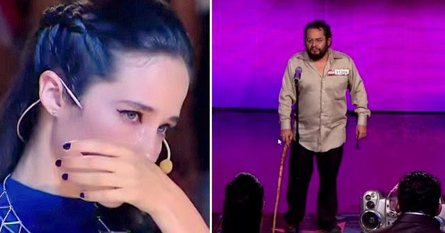 Beskućnik izašao na binu ali kada je zapjevao, žiriju se slomilo srce svi su ostali u šoku !