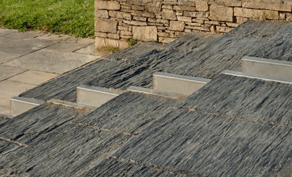 Marzua todas las ventajas de los suelos de pizarra para - Suelos terrazas exteriores ...