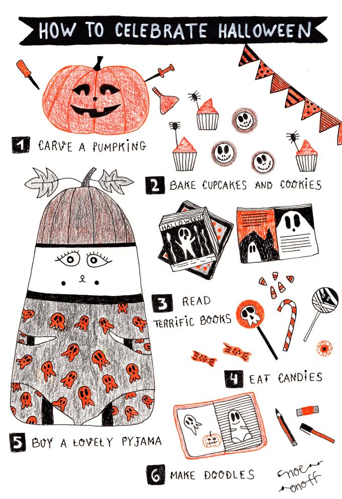 Ilustración Halloween: Cómo celebrar Halloween