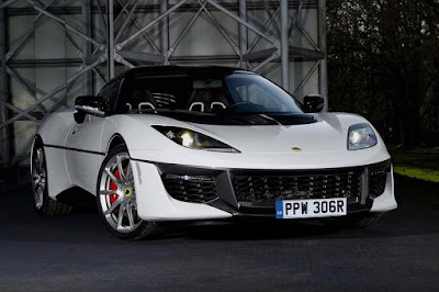 Lotus Evora Sport 410 'The Spy Who Loved Me' Tribute (2017) Front Side