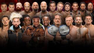نتائج مباريات عرض سرفايفر سيريس 2016 المصارعه الحره Survivor Series 2016 5